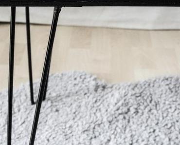 Altholz Upcycling: Beistelltisch mit Hairpin Legs