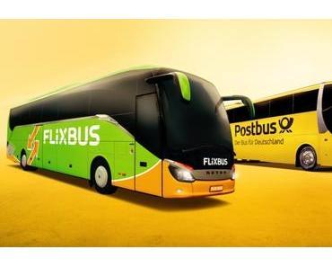 Flixbus übernimmt auch Postbus