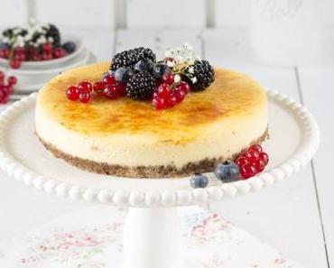 Cheesecake Brûlée mit Beeren *Werbung*