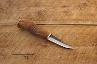 Riipi Puukko das Finnmesser mit der schwarzen Klinge