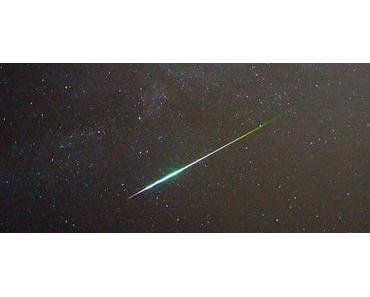 Heute Nacht Sternschnuppen gucken