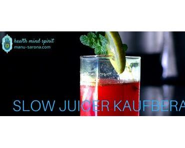 Slow Juicer-Kaufberatung