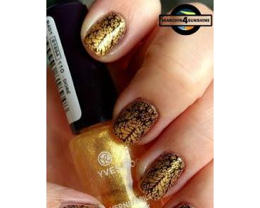 [Nails] NailArt-Dienstag: Lace mit YVES ROCHER 110 DORÉ