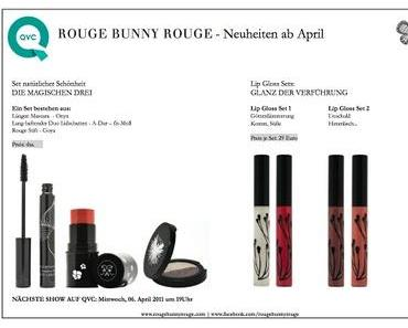 Endlich ist es soweit: Die Neuheiten von Rouge Bunny Rouge  die ab  April bei QVC erhältlich sind.