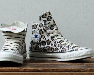 "Converse Addict All Star Hi ""Leopard"" Sneakers"
