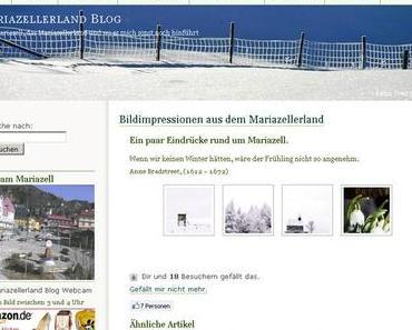 Mariazellerland Blog – verschiedene Darstellung der Galerie Fotos