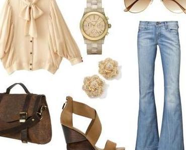 Schlaghosen/ Flare Jeans  - Was ziehe ich an ?