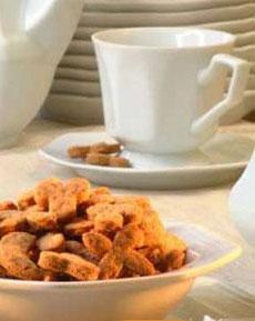 Erdnussbutter-Cookies mit Stevia gesüßt