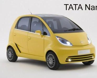 Tata will Nano nach Deutschland bringen