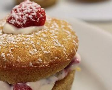 Petits Gâteaux façon tiramisu aux fraises