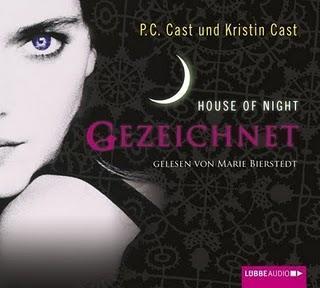 """Rezension: """"Gezeichnet""""-House of Night 1 von P.C. Cast"""