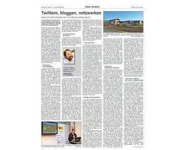 Das Holz-Zentralblatt über Twitter, bloggen und netzwerken