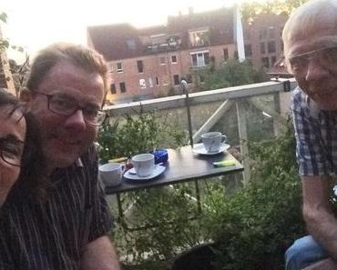 Fotos: Ein Sommerabend auf dem Balkon