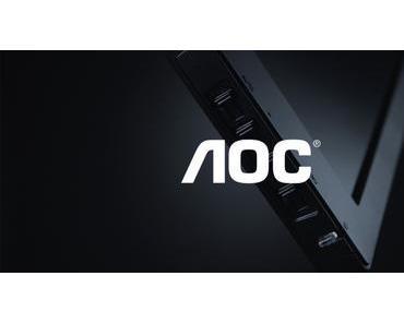 AOC stellt neues Gaming Monitor-Lineup zur Gamescom vor