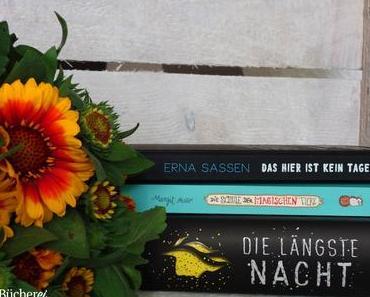 Neue Bücher im Regal