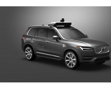 Uber setzt selbstfahrende Autos einund kauft Otto
