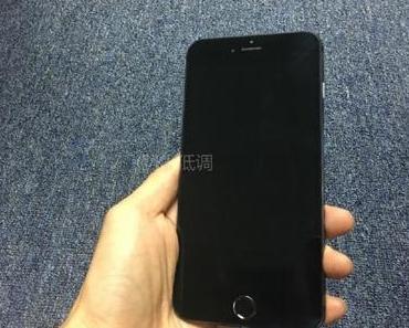 """Mockup: Wie könnte das """"Space Black"""" iPhone 7 aussehen?"""