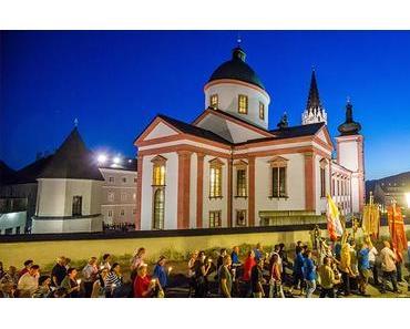 Lichterprozession der Burgenländischen Kroaten in Mariazell 2016 – Fotos