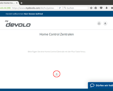 Die devolo Home Control Alarmsirene