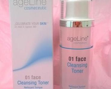 [Review] ageLine® Cosmeceutic 01 face Cleansing Toner