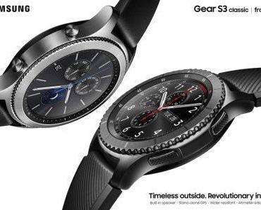 Samsung Gear S3 : Nachfolger der Smartwatches auf der IFA vorgestellt