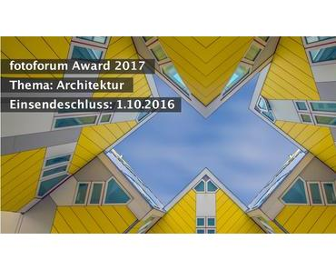 fotoforum Award 2017: Architektur