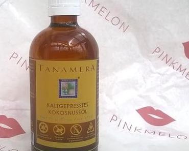 Tanamera Kaltgepresstes Kokosnussöl + essence The False Lashes Mascara Dramatic Volume Unlimited + Danke :-)