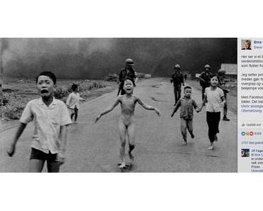 Facebook hat jetzt beim Vietnam-Kriegsfoto nachgegeben