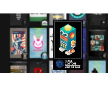 Pixel Cotton: Erspiel dir dein Shirt-Design