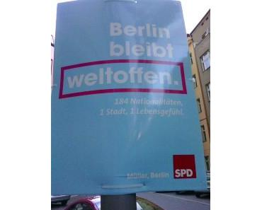 Berliner Wahlplakate in der Sprachkritik