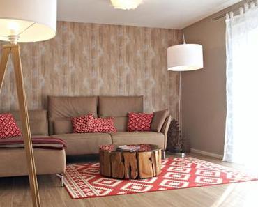 Wohnzimmer im Alpenlook in Hattersheim
