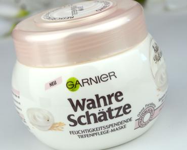 [NEU] Review: Garnier Wahre Schätze Sanfte Hafermilch Feuchtigkeitsspendende Tiefenpflege-Maske