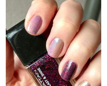 [Nails] MANHATTAN 260 LO LO LOVE IT & 570 CLUB NIGHTS mit stamping