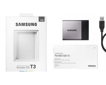 Samsung Portable SSD T3 angeschaut
