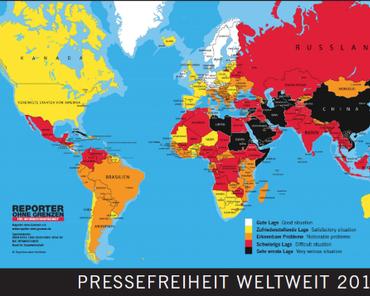 Pressefreiheit in Deutschland und anderswo
