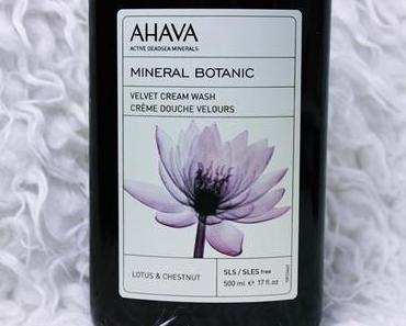 Ahava 'Lotus & Chestnut' Cream Wash und Body Butter [Review]