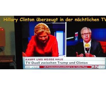 Hillary Clinton nimmt Donald Trump auseinander