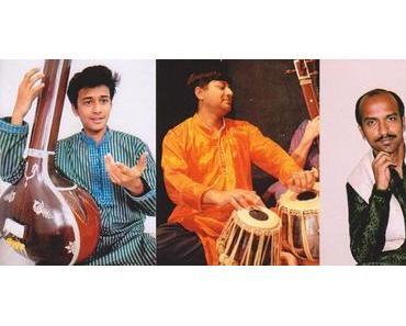 Klassische indische Musik im Restaurant Safran