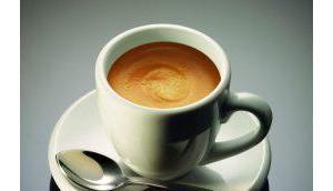 Kaffeegenuss hoch