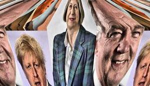 Brexit Nebelloch sich balgende nichtsnutzige Minister