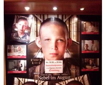 """Bei der Deutschlandpremiere von """"Nebel im August"""""""