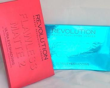 [Eyeshadow-Shopping] Zwei Paletten von Makeup Revolution (nicht bei Rossmann erhältlich)