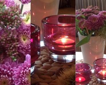 Friday-Flowerday – oder – Der Herbst ist lila