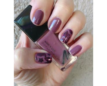 [Nails] MANHATTAN 510 BE MY ROMEO mit 570 CLUB NIGHTS