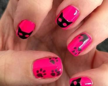 [Nails] Frischlackiert-Challenge: Katzen mit models own NP256 Pink Wellies & dreckigen Pfoten