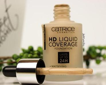 Catrice HD Liquid Coverage Foundation // Review & Tragebilder