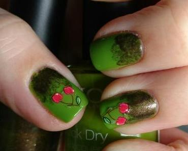 [Nails] Frischlackiert-Challenge: OBST mit KIKO Quick Dry 851 Lime Green & 813 Pearly Brown
