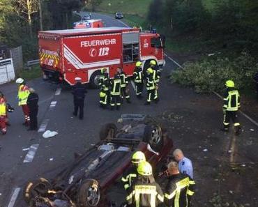 Unfall A9 gestern