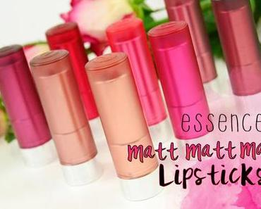 essence- matt matt matt Lipsticks