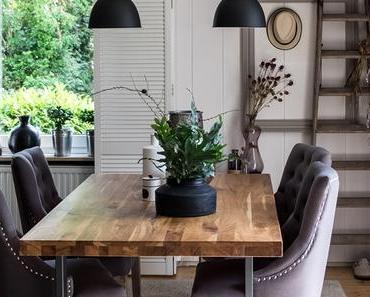 Wohnen | Das Esszimmer - frisch dekoriert
